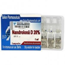 Nandrolona D 20% Нандролон Деканоат 200 мг/мл, 10 ампул, Balkan Pharmaceuticals