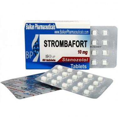 Strombafort Стромбафорт 10 мг, 100 таблеток, Balkan Pharmaceuticals в Шымкенте