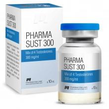 PHARMASUST 300 Тестостерон Микс 300 мг/мл, 10 мл, Pharmacom LABS
