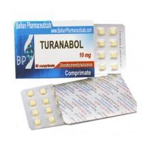 Turanabol Туринабол 10 мг, 100 таблеток, Balkan Pharmaceuticals