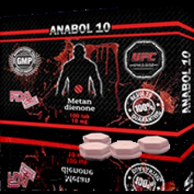 ANABOL 10 Анабол Метан Метандиенон 10 мг, 100 таблеток, UFC PHARM в Шымкенте