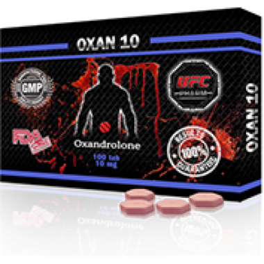 OXAN 10 Оксандролон 10 мг, 100 таблеток, UFC PHARM в Шымкенте