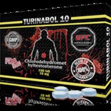 TURINABOL Туринабол 10 мг, 100 таблеток, UFC PHARM