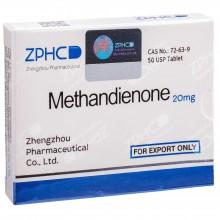 Methandienone Метандиенон 20 мг, 50 таблеток, ZPHC