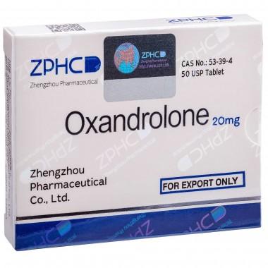Oxandrolone Оксандролон 20 мг, 50 таблеток, ZPHC в Шымкенте