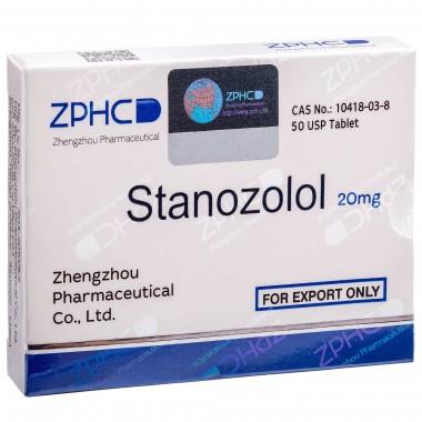 Stanozolol Станозолол оральный 20 мг, 50 таблеток, ZPHC в Шымкенте